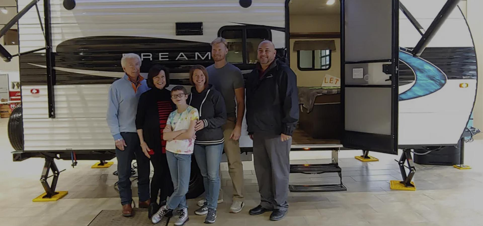 Mount Comfort RV Indy Grants Wish For 9-Year-Old